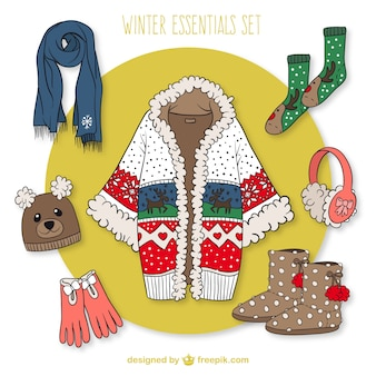 Female winter essentials set