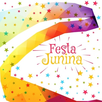 Festa junina celebration colorful background