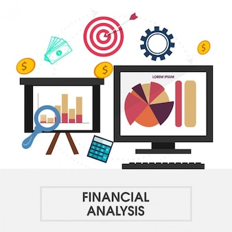 Financial analysis background
