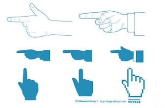 finger pointing 2