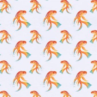 魚のパターンの背景