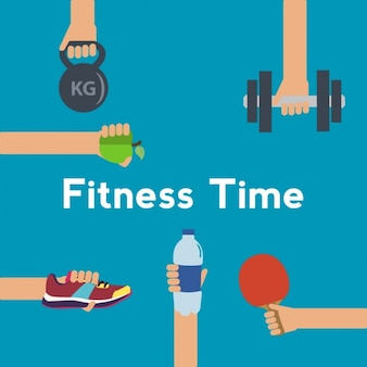 Fitness background design