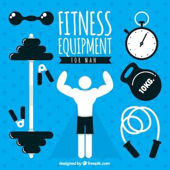 Fitness equipment pack