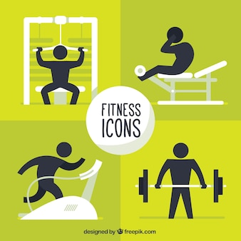 Fitness icons pack