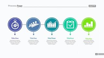 Five Options Slide Template