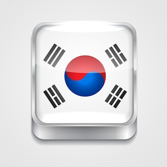 Flag icon of south corea