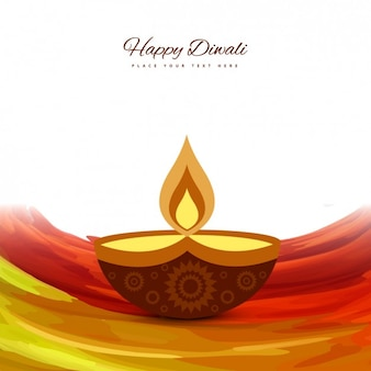 Flame Diwali background
