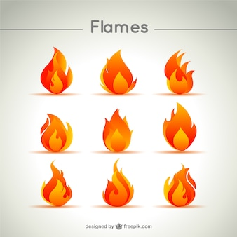 Flame forms