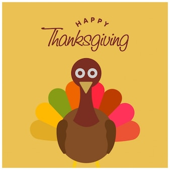 Flat background for thanksgiving day