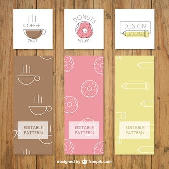 Flat Business Logos