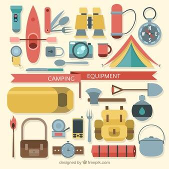 Flat Camping Equipment