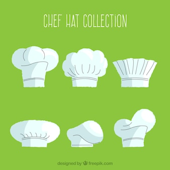 Flat chef hat pack