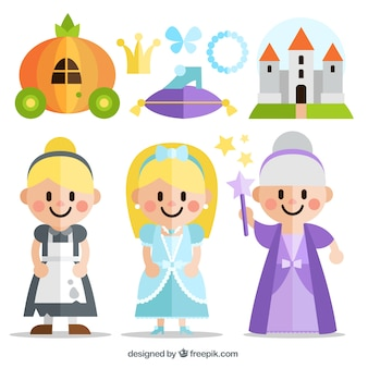 Flat Cinderella story characters