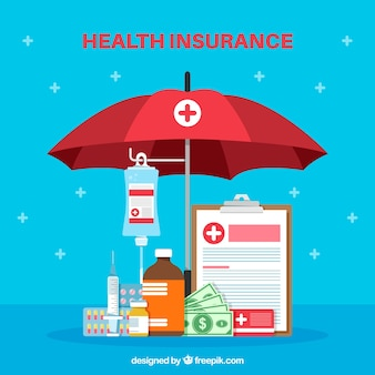 健康相補物による平らなcmposition