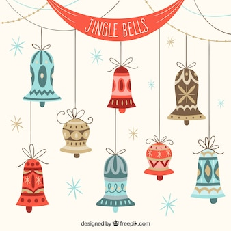 Flat Jingle Bells Collection