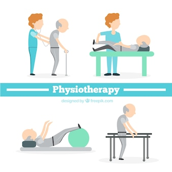 Flat Physiotherapy Situations