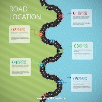 Flat Road Location Template