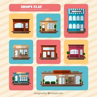 Flat shops