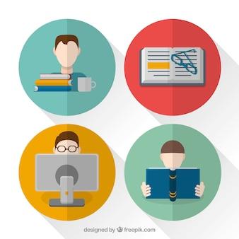 Flat student concepts