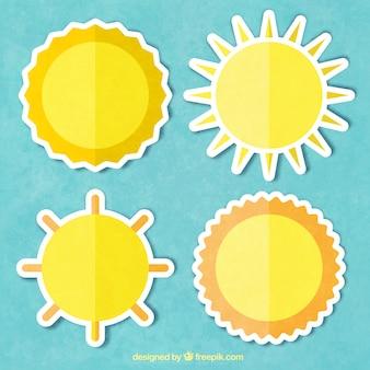 Flat suns