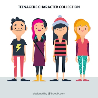 Flat Teenager Collection