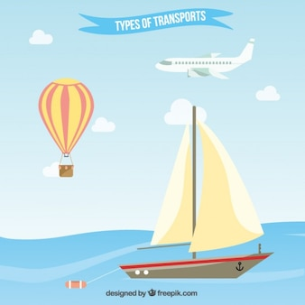 Flat types of transport pack
