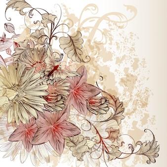 Floral background design