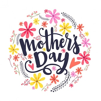Floral background for mother's day