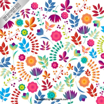 abstract floral background vector   free download