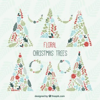 Floral Chritsmas Tree Collection