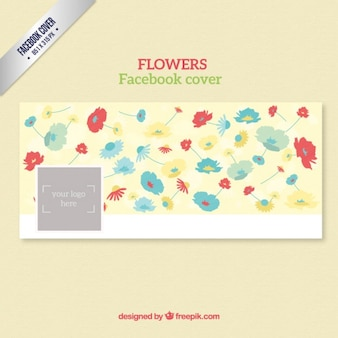 Floral facebok cover