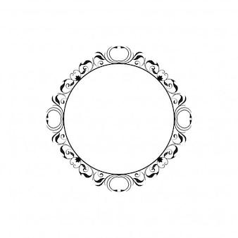 Floral frame element