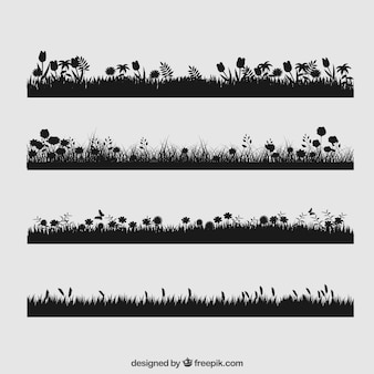 Floral grass collection