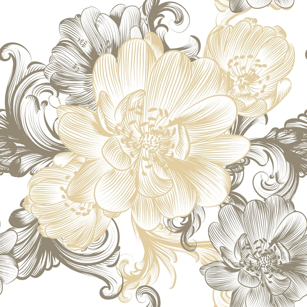 Floral Pattern Vectors, Photos and PSD files | Free Download