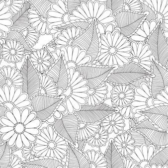 Floral pattern design