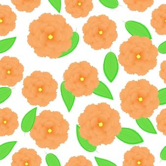 花のパターンの背景