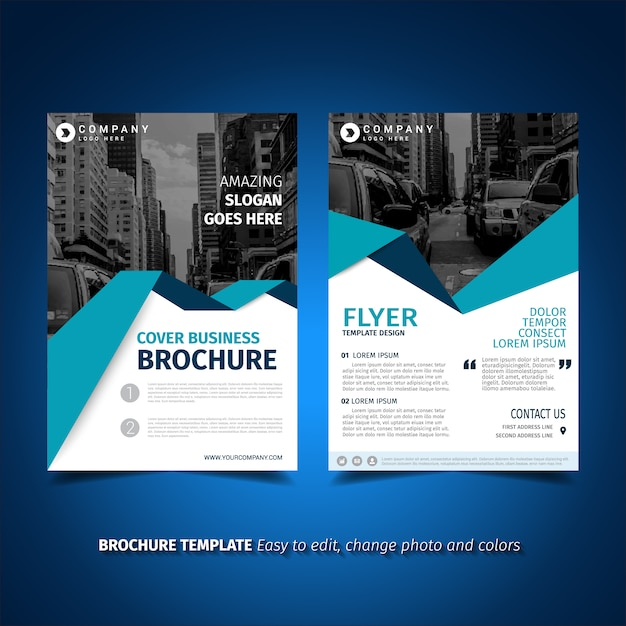 Sponsorship Brochure Template Ozilmanoof