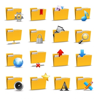 Folder icons collection