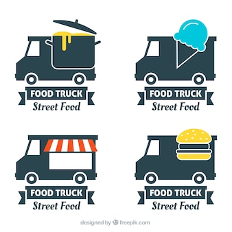Food truck label collection