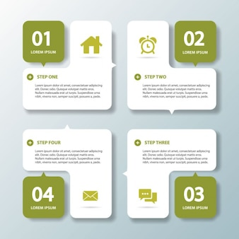Four green options for infographics