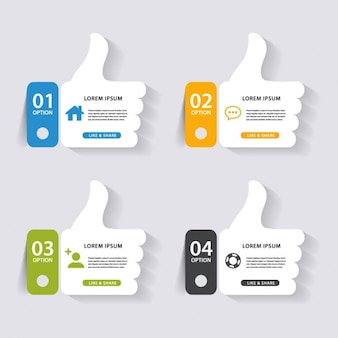 Four hands for infographics