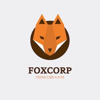 Foxロゴデザイン