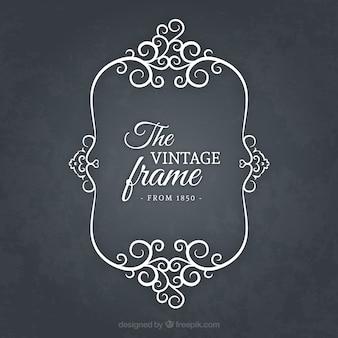 Frame in vintage style