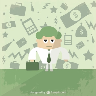 Free businessman vector illustration