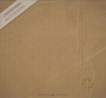 Free cardboard background vector