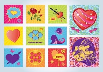 Free Love Vectors