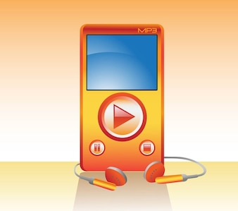 Free MP3 Player Vector