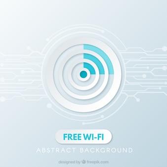 無料の無線LANの背景