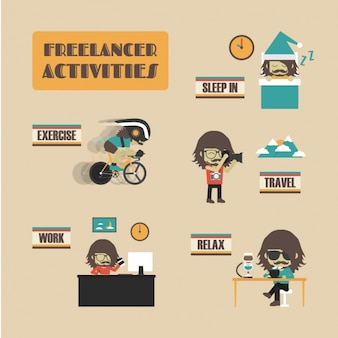 Freelance activities collection