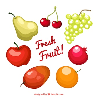 Fresh fruit!